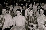 Linda -Woodard - watching Pioneer basketball in walla walla