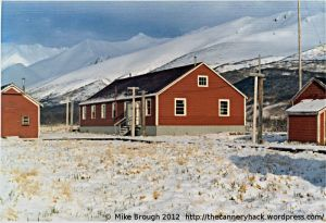 False Pass Alaska Cannery Buildings 1973